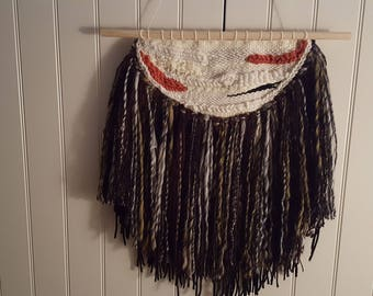 Viking style Woven wall hanging