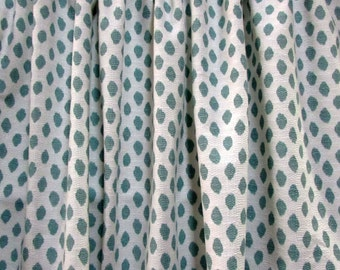 PAIR  LINED Drapes Sahara Mineral Lacefield fabric