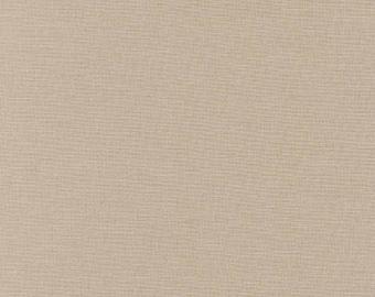 Parchment Kona Cotton Solid 25cm