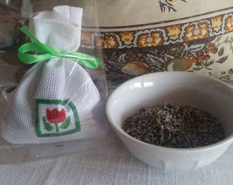 Profumabiancheria Bags with lavender flowers
