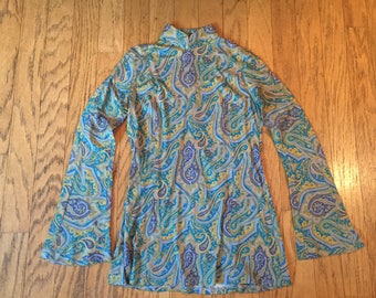 1960's Inspired Psychedelic Tunic