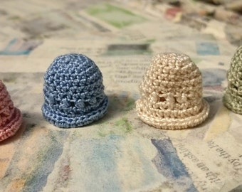 Miniature Crochet Hat- 1/12thscale