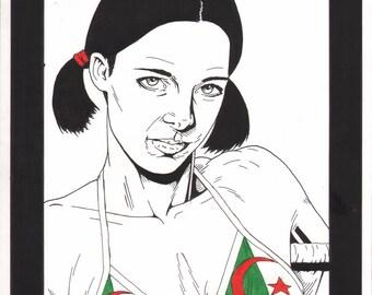 Lina in Algerian Bikini