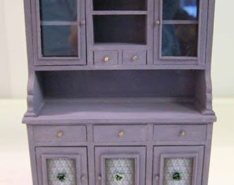 Dollhouse Miniature, Halloween, Furniture, 1:12th Scale, Witch, Ghost, Room Box, Haunted House, Hutch