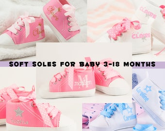 Baby Girl Shoes, Baby Gifts, Personalized Baby Girl Shoes, Infant Shoes, Personalized Baby Gift, personalised baby shoes