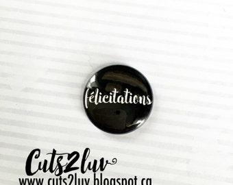 "1 ""congratulations black badge"
