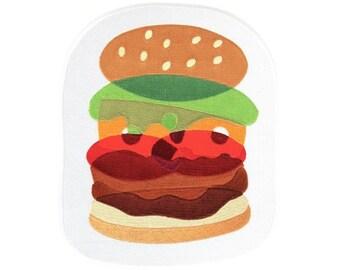 Burger Back Patch