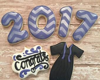 Graduation Cookie Set (1/2 Dozen)