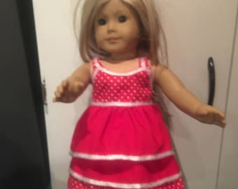 American girl doll dress (two pieces)