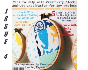 Handmadeology Magazine - Issue 4 - Blog Tips - Timothy Adam