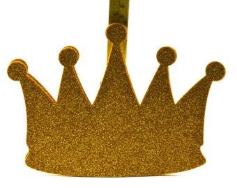 Princes Glitter Crown Decoration (Smooth Foam)