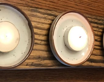 Rustic wooden Candle Holder, Pallet Wood Candle Holder