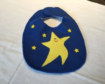 Star Fleece Bib