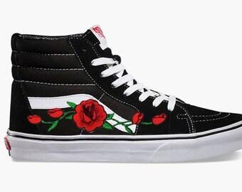 vans rose buds