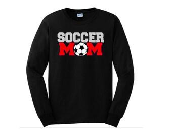 Long Sleeve Soccer Mom Shirt