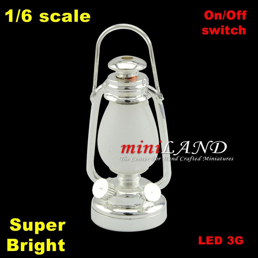 1/6 1:6 Barbie Lampe Licht Super Bright batteriebetriebene LED