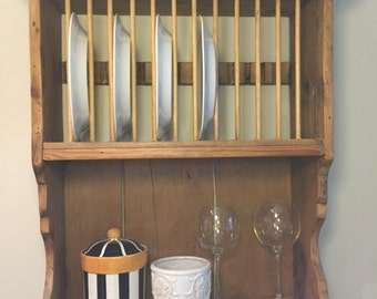 ANTIQUE PINE WALL Shelf