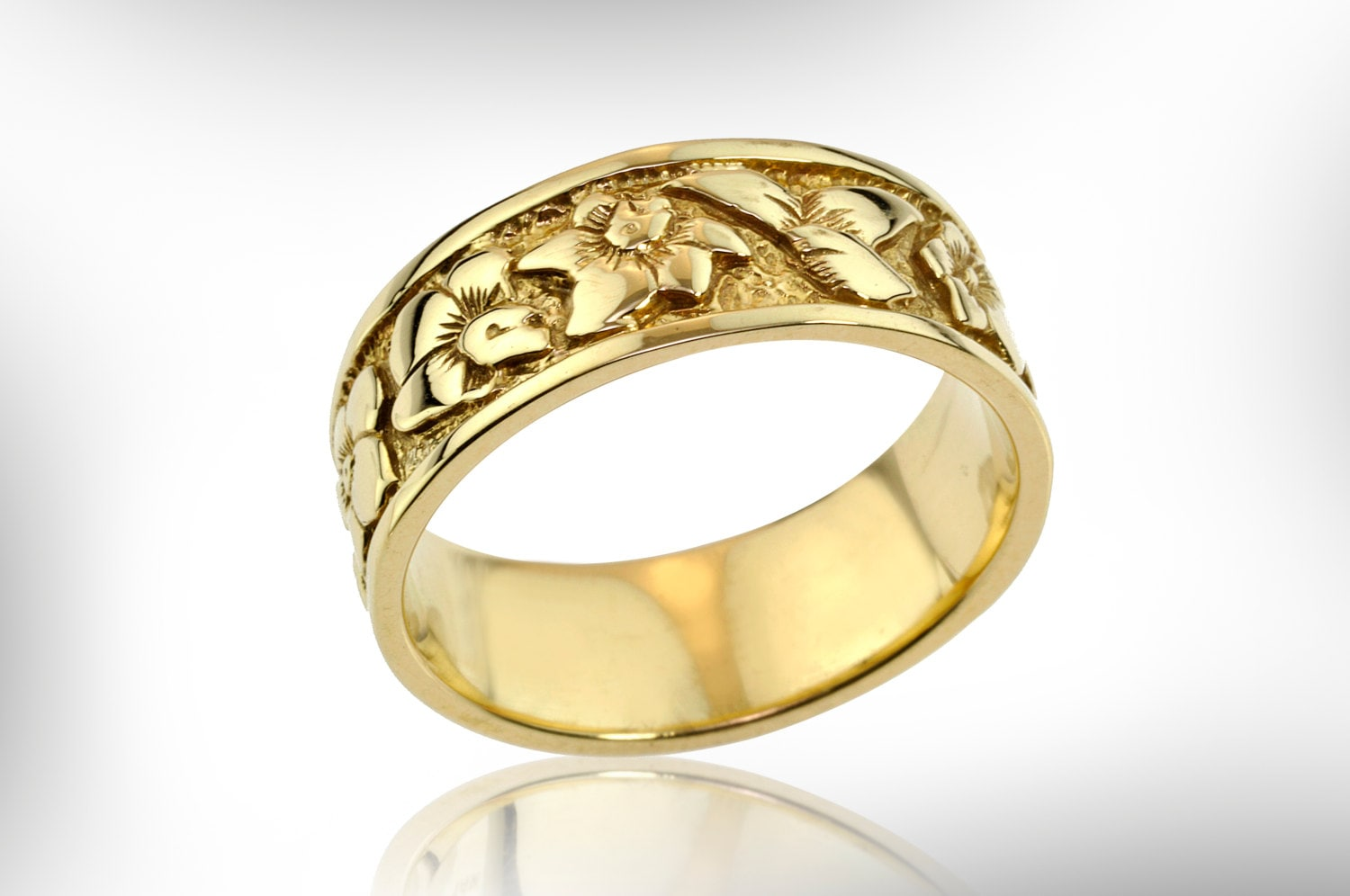 band wedding jewelry products yellow johan custom ring rings by gold