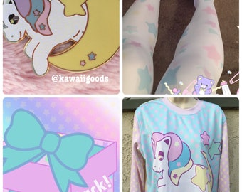 Sweetie Dreams Unicorn Lucky Pack, Happy Pack, Fairy-Kei Lucky Pack, Yume Kawaii Lucky Pack