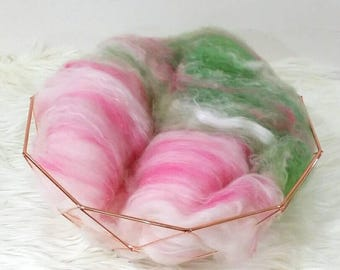 Blended Snuggle Fluff 50g Wool and Silk.