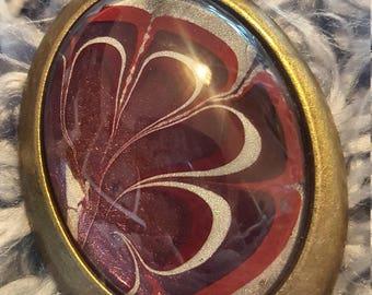 Mystic Marble Pendant