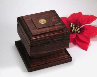 valentines day gift for him mens jewelry box personalized