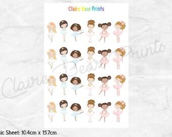 BALLERINA Planner Stickers