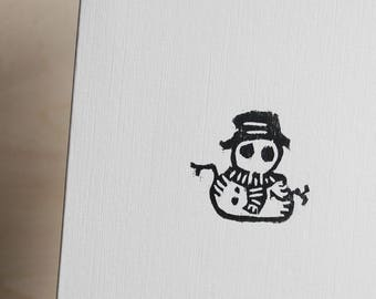 Snowman Greetings Card