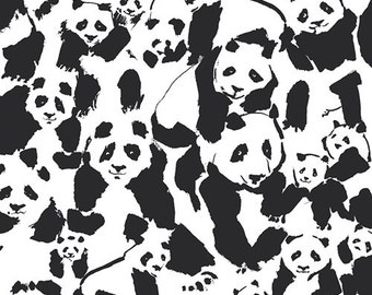 CANVAS:  Pandalings Pod Assured, Canvas by Art Gallery Fabrics, C-10122