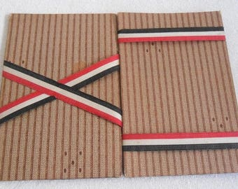 Patriotic purse-banknotes-German Empire-German Empire Wallet-around 1910-patriotic purse
