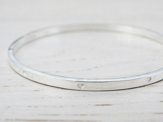 collections silver polished large prjewel bangle all pure bangles cheap sterling online high