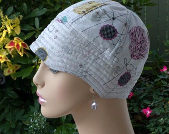 Woman Chemo Hat for Hair Loss Cancer Hat Made in the USA LARGE