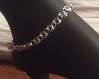SALE! Double sale 75% off  Anklet Chainmaille 2-1