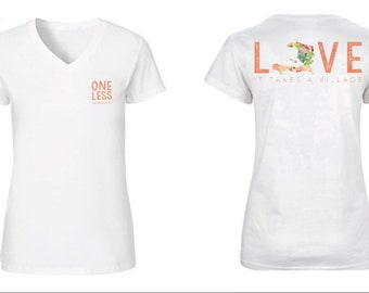 WOMEN'S Haiti Adoption Fundraiser T-shirt