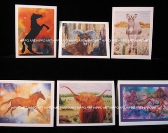 Home on the Range SOUTHWEST GREETING CARDS