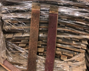 Wooden Wine Barrel Staves