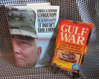 Two Books on the Gulf War: General Schwarzkopf and  Col. Walter Boyne