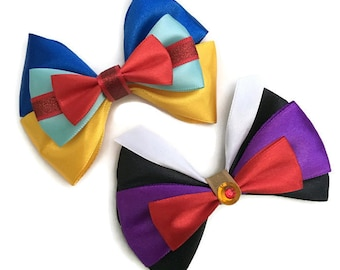 Snow White Inspired Disney Character Evil Queen Snow White Hair Bows