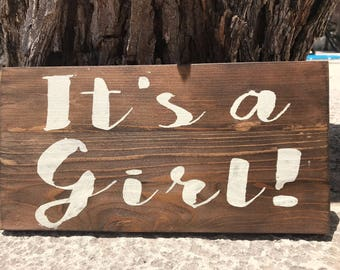 Its a girl,baby shower,welcome baby,baby girl,new baby,rustic baby shower,woodsy baby shower,forest baby shower,gender reveal party,vintage
