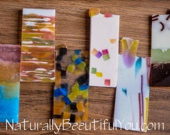 4 oz Variety Soap Pack Soap Sampler- Homemade Soap SAMPLES- Sample Set- Travel Soap- Grab bag- Soap Ends- Soap Bundle- Fancy Soap- Pretty