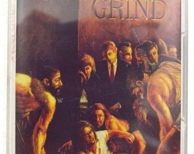 Vintage 90s Skid Row Slave to the Grind Heavy Metal Album Cassette Tape