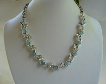 Judy Lee Blue Moonglow Floral Parure Set