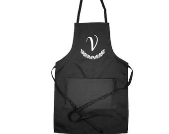 Personalized Apron, Custom Apron, Apron for Woman, Womens Apron, Apron for Cook, Kitchen Apron, Cook Apron, Cooking Gift, Gift for Mom