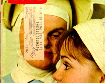 TV Guide, #840, 1969, Sally Field, Madeleine Sherwood, The Flying Nun, TV, Television, TV Programs, Ephemera, Vintage, Complete