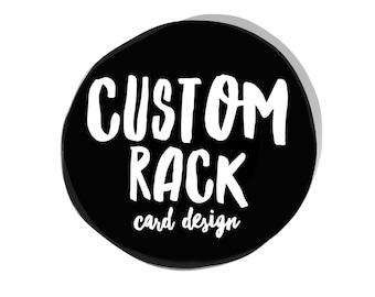 Custom Rack Card Digital File Design