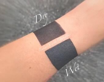 Charcoal Matte Eyeshadow   Vegan   Cruelty Free
