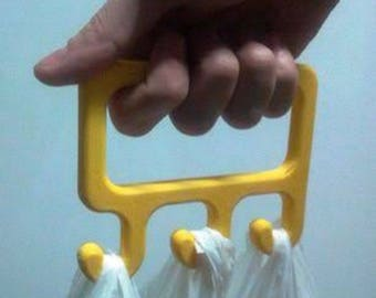 3D Printed Grocery Bag Carrier