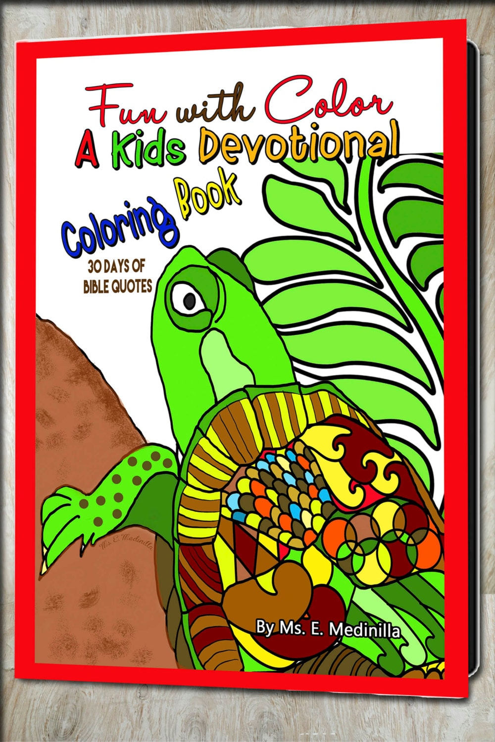 Devotional Coloring Book for Kids Bible Quotes to Meditate and