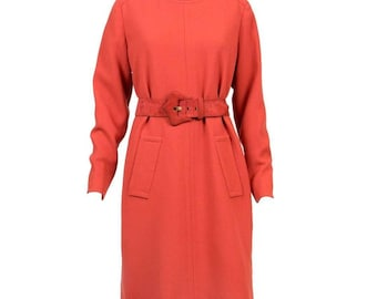 Givenchy 1960s Haute Couture Numbered Mandarin Dress