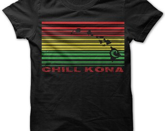 Chill Kona by Chill Clothing on Black